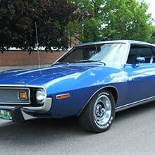 Boldly styled 1974 AMC Javelin coupe restored to factory performance specs