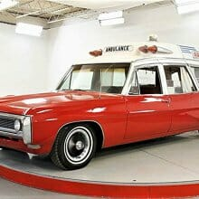 1968 Pontiac Bonneville ambulance was used for race track emergencies