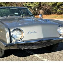 Factory-supercharged 1963 Studebaker Avanti R2 coupe