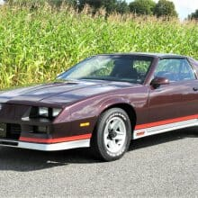 Awesome '82 Chevrolet Camaro Z28 channels future collector car vibe