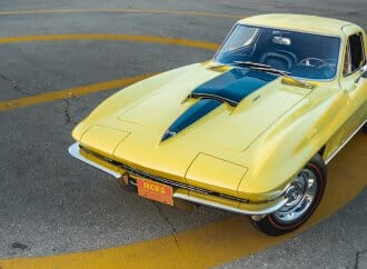 1967 COPO Corvette ordered by GM designer Bill Mitchell set for auction