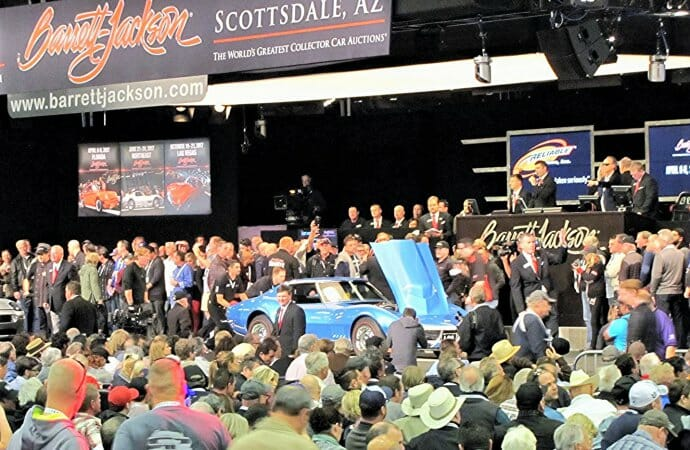 Barrett-Jackson extends prime-time bidding to allow more top-quality vehicles
