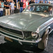 Long-lost 'Bullitt' Mustang GT nabbed by Mecum for January auction