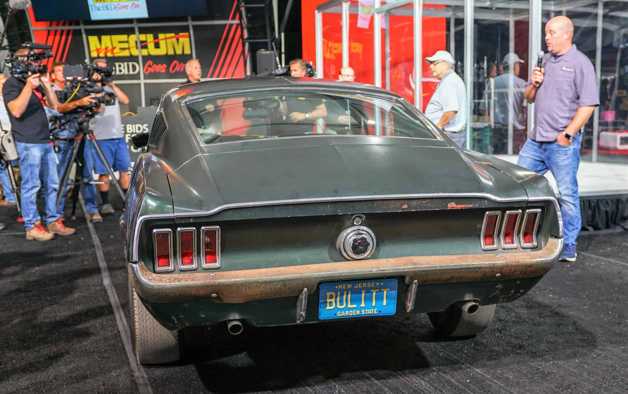 Long Lost Bullitt Mustang Gt Nabbed By Mecum For January Auction