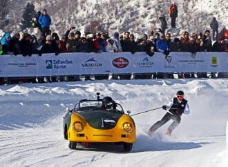 Porsche heir organizing another ice racing weekend