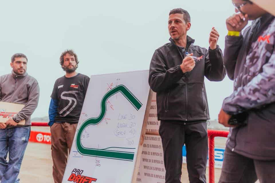 Ryan Lanteigne Formula Drift judge