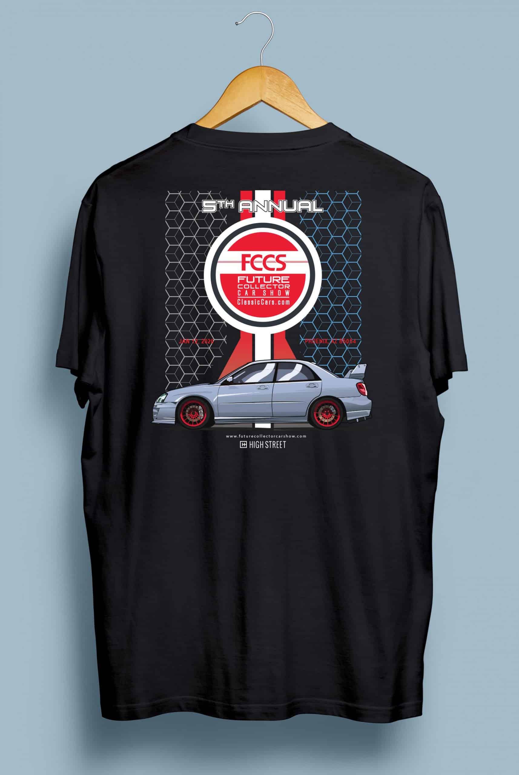 Last Era Brand FCCS 2020 spectator t-shirt back