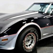 The esthetic glory of the  1978 Corvette Pace Car Edition