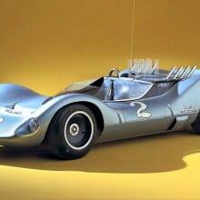 Experimental 1964 mid-engine Corvette set for Amelia Island special class