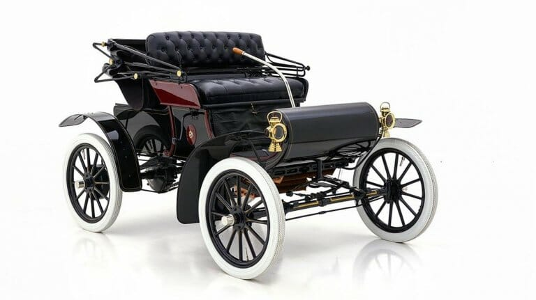 Someday you'll want a car like this early Olds