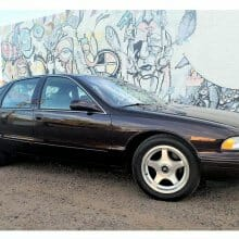 Low-mileage 1996 Chevrolet Impala SS