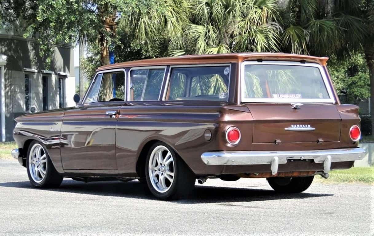 Rambler, Faux wood and a great stance, 1961 Rambler American custom street rod, ClassicCars.com Journal