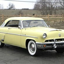 Stylish 1953 Mercury Monterey hardtop restored in original trim