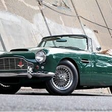 Million-dollar baby: 1962 Aston Martin DB4C 'drophead' with SS engine