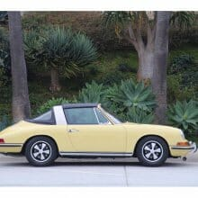 There is no Substitute; 1968 Porsche  soft-window Targa is one rare tub
