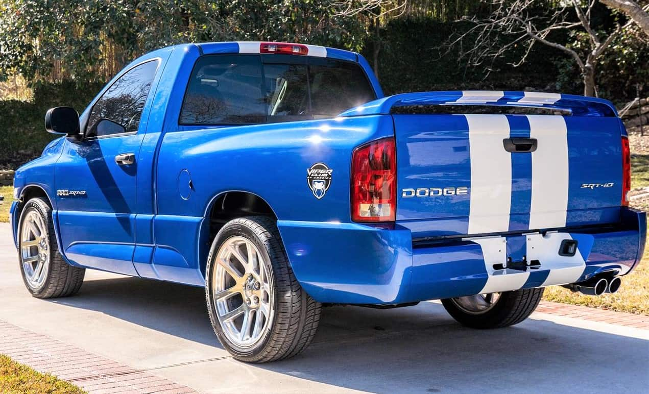 A Set Of Fangs Dodge Viper And Viper Powered Ram Truck
