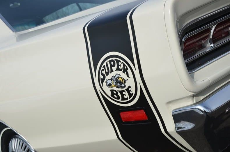 One of only 92 Super Bee heads to GAA auction