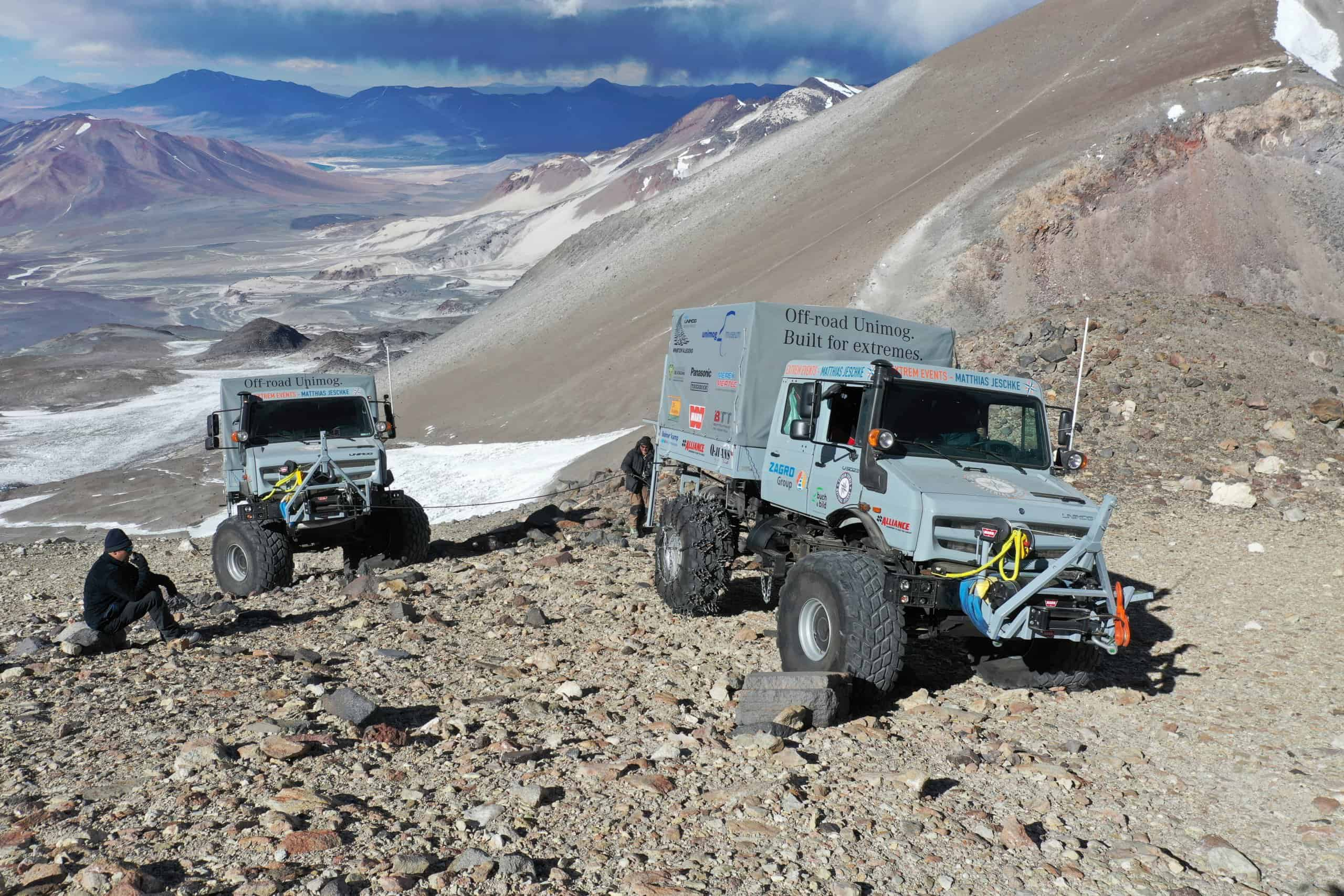 Mercedes, Mercedes Unimogs set record for high-altitude driving, ClassicCars.com Journal