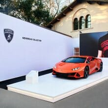 Lamborghini unveils… not a car, but latest line of men's wear