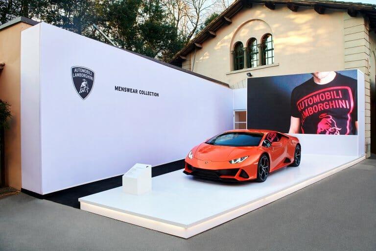 Lamborghini unveils… not a car, but latest line of men's wear