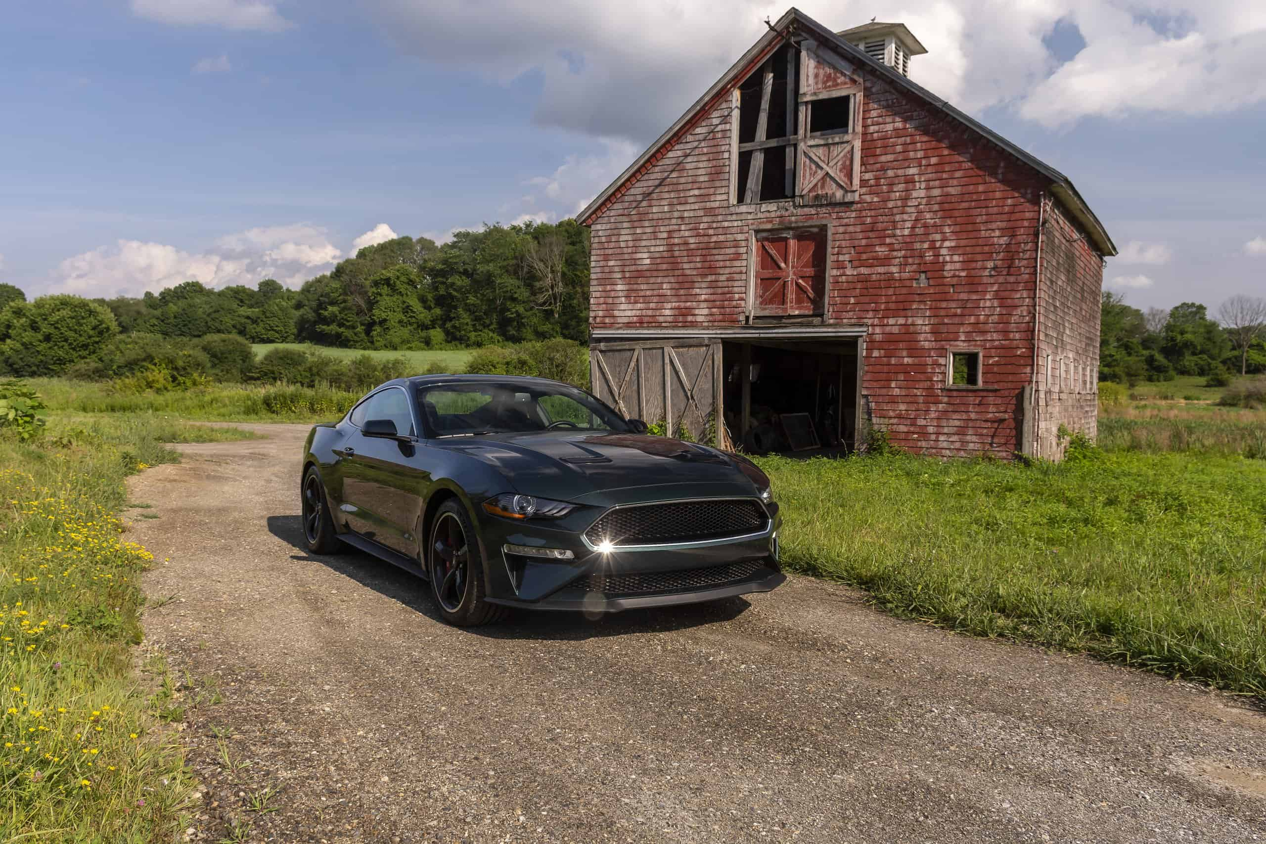 2020 Mustang Bullitt Edition is cool