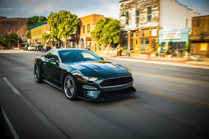 Steve McQueen Bullitt Mustang #001 Future Collector Car Show