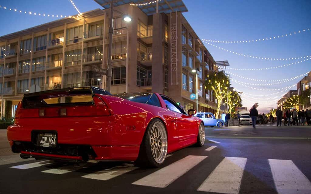 Future Collector Car Show - NSX on display