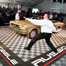 Arizona auctions rally on Saturday as star cars hit the blocks