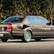 BMW made a V16-powered 750 iL named Goldfisch in 1987