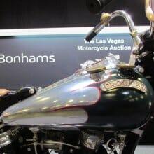 Bonhams sells 52 vintage motorcycles at Las Vegas