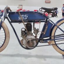 The gorgeous artistry of the vintage motorcycle