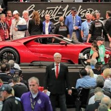 Barrett-Jackson scales new heights with record-setting Scottsdale sale