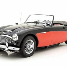 Well-sorted 1962 Austin Healey 3000