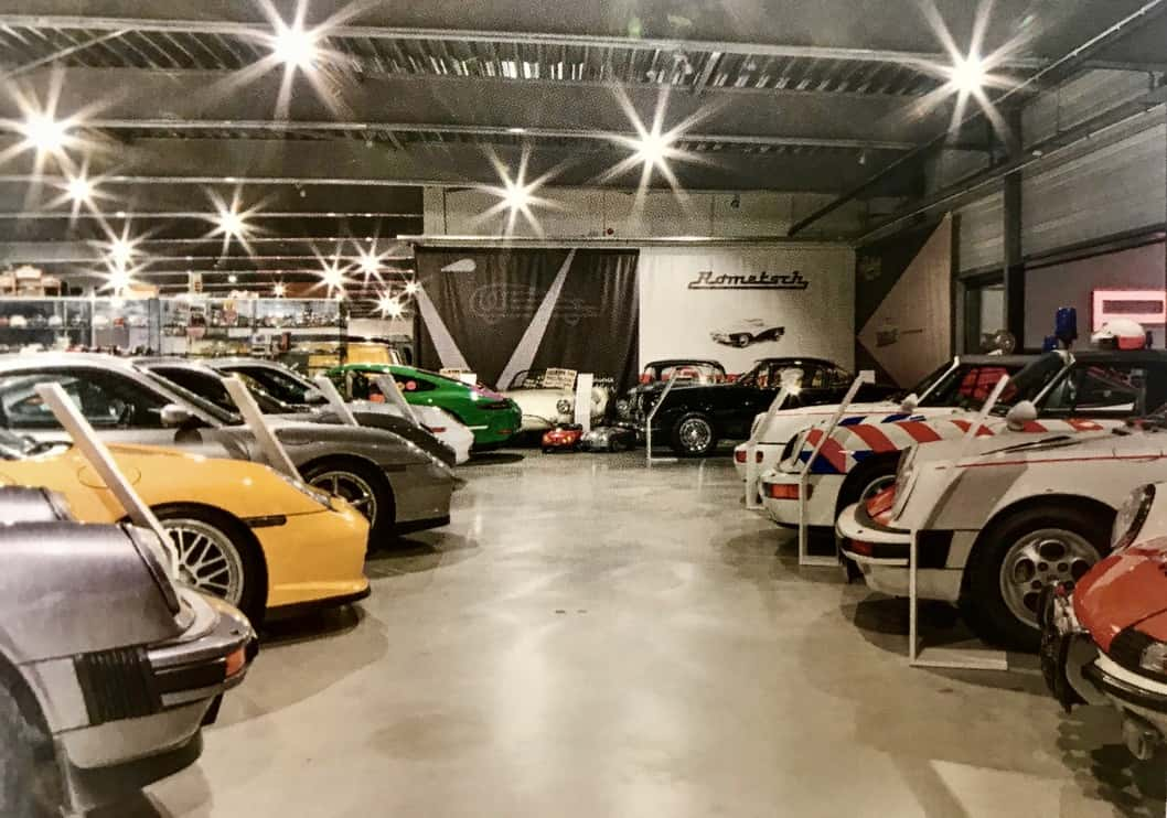 Many very special Porsche, Audi and Volkswagens are part of the massive collection.