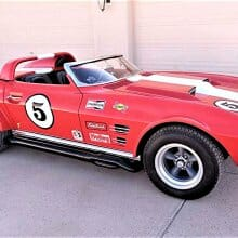 Replica race car 1967 Chevrolet Corvette 'Grand Sport' roadster