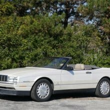 One dreamy droptop: 1993 Cadillac Allante