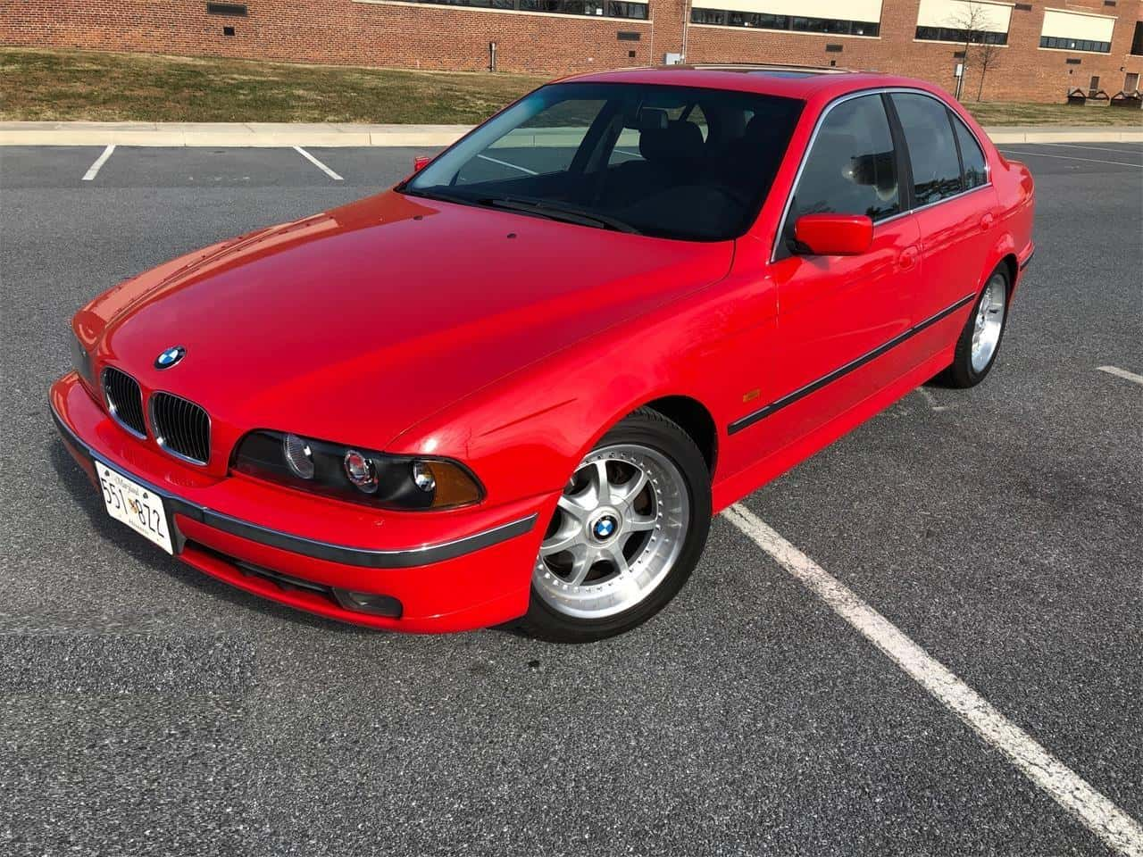 Featured Listing Bright Beautiful Bimmer 1997 Bmw 540i Classiccars Com Journal