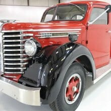 Rare, rugged 1949 Diamond T pickup