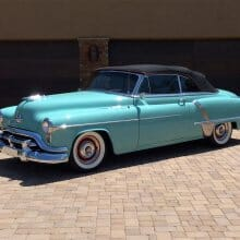 Featured listing: We'll be ridin' in style all the way along – 1952 Oldsmobile Super 88