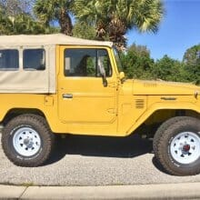 Featured listing: Domo Arigato to Willys – 1982 Toyota Land Cruiser FJ40