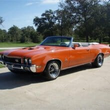 Featured listing: Big-block muscle – 1972 Buick GS Stage 1 convertible