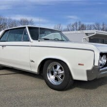 First-year 1964 Oldsmobile Cutlass 442, updated for power, drivability
