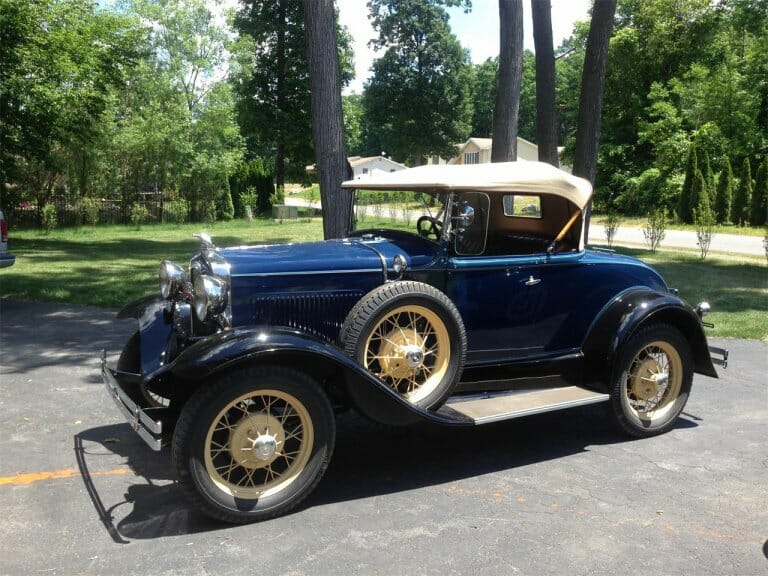 Featured listing: A Ford in every garage and a chicken in every pot: 1931 Ford Model A
