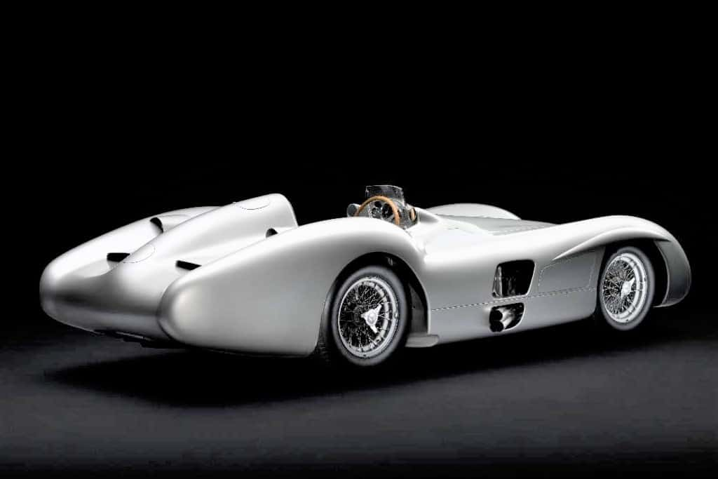 mercedes silver arrow racers set for amelia concours showcase mercedes silver arrow racers set for