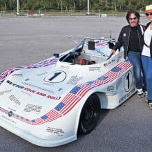 Vintage race car from rock star John Oates in charity auction