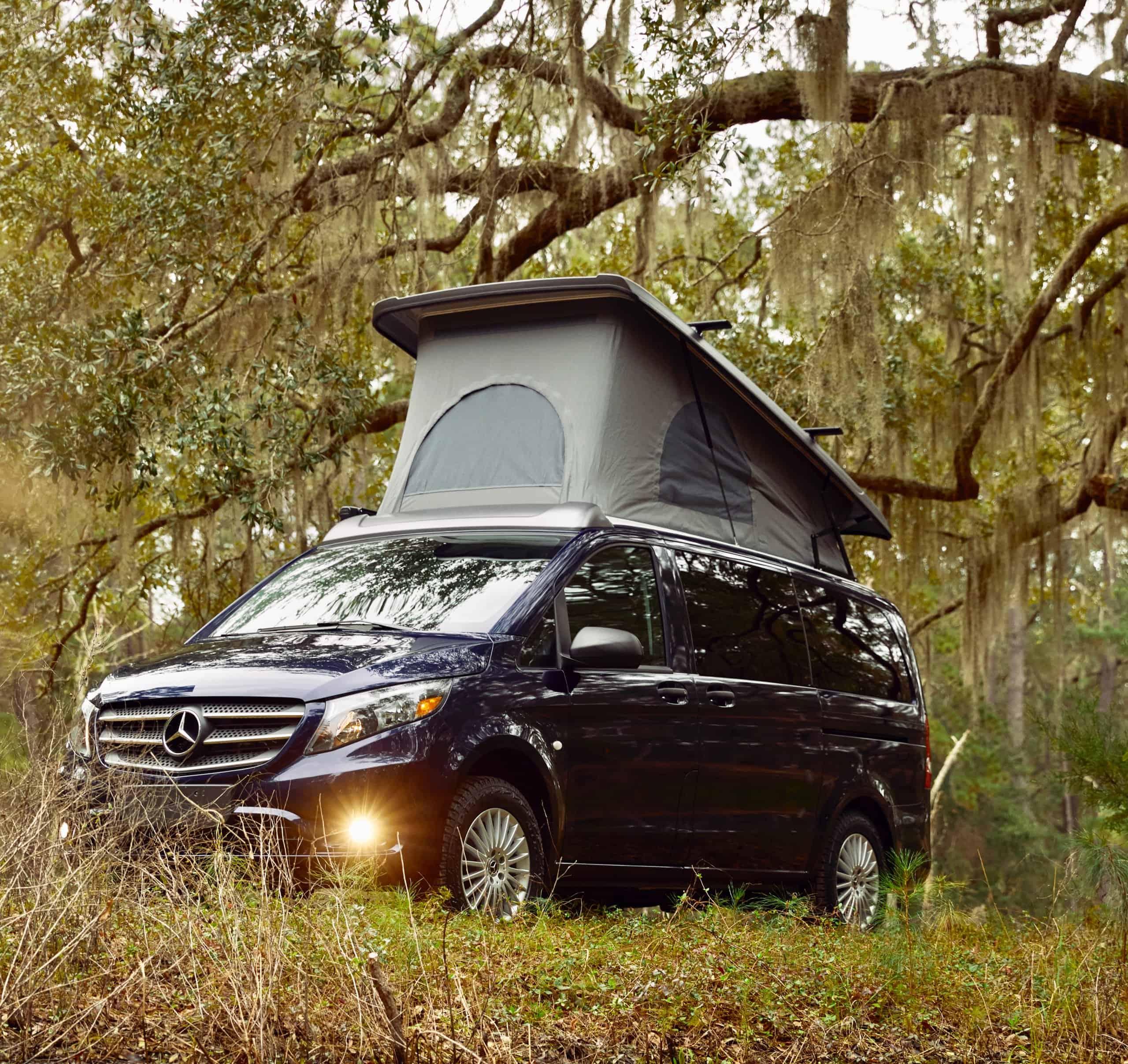 Pop-up camper van, This Mercedes pops its top, ClassicCars.com Journal