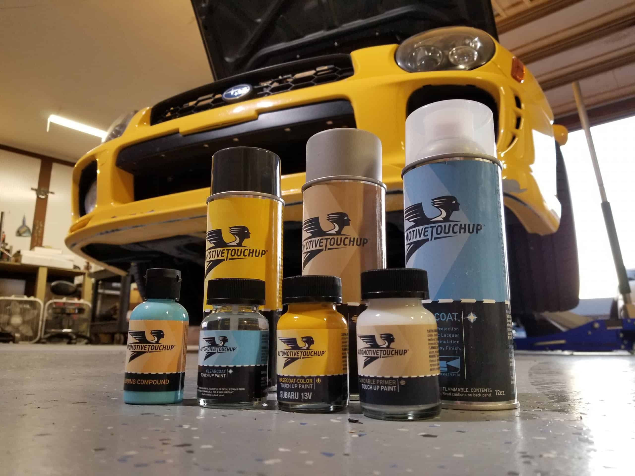 Automotive Touchup paint repair products