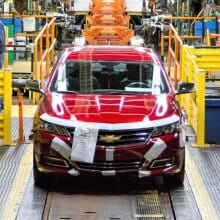 Chevrolet builds its last Impala