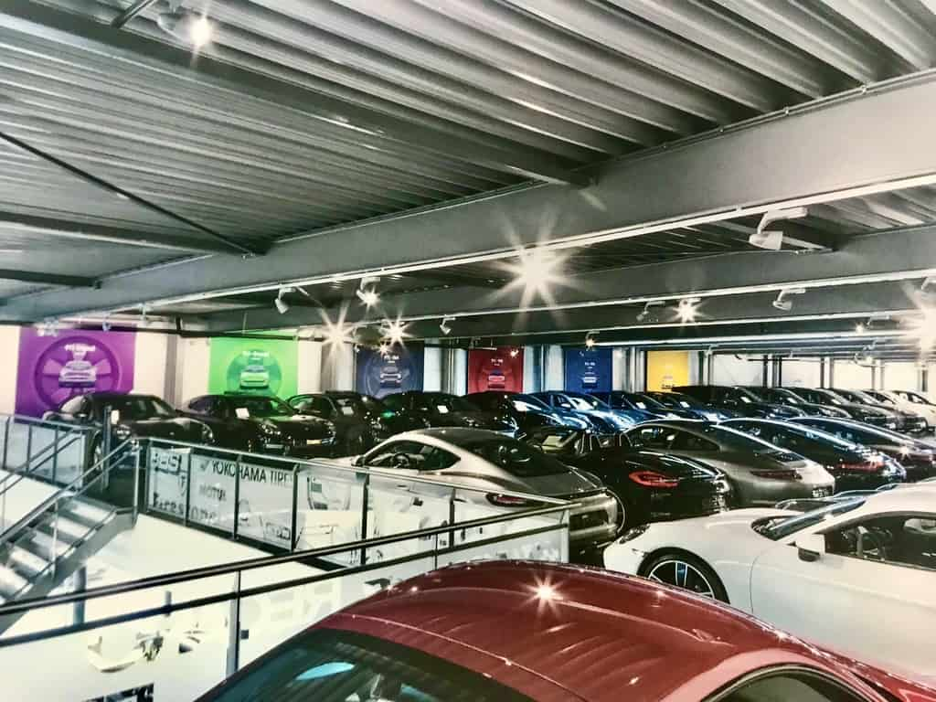 Large inventory means you will find the Porsche you seek