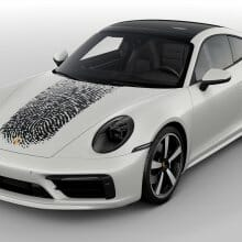 Porsche will put your fingerprint on your 911